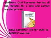 OLM to MBOX Converter for Mac