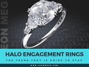 Halo engagement rings: The trend that is going to stay