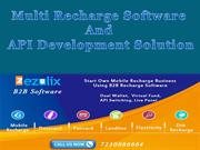 Mobile Recharge API and Software Development Company India