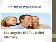 Los Angeles IRS Tax Relief Attorney