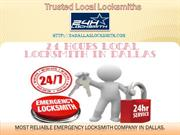 24 Hour Dallas Locksmith