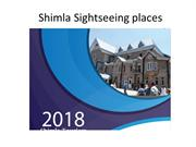 Shimla Sightseeing places list and information