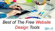 Best of The Free Website Design Tools