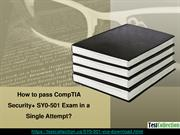 Get Latest SY0-501 Questions and Answers to prepare SY0-501 Exam