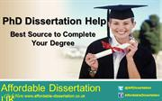 PhD Dissertation Help - Best Source to Complete Your Degree