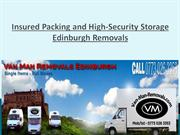 Hire the Reliable Man with Van Edinburgh Removal Services