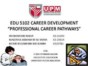 edu career scrap book