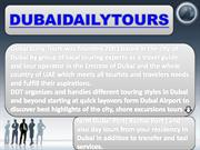 Best packages for Dubai sightseeing & Dubai Stopover