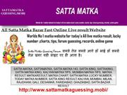 Play Online Satta matka game