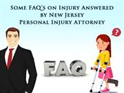 Some FAQ's on Injury Answered by New Jersey Personal Injury Attorney