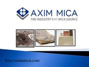 Buy High Performance Mica Sheets and Mica Materials Axim Mica