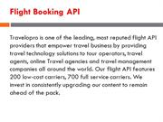 Flight Booking API