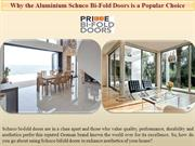 Why the Aluminium Smart Bi-fold Door is a Popular Choice