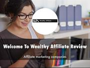 Wealthy Affiliate Review Presentation