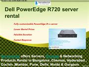 Dell Power edge R720 rental