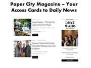 Paper City Magazine – Your Access Cards to