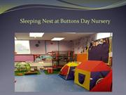 Sleeping Nest at Buttons Day Nursery