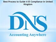Best Process to Guide Ir35 Compliance in United Kingdom