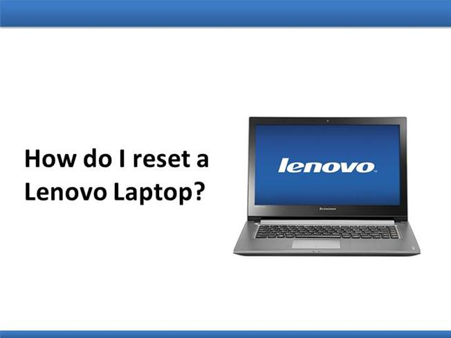 how to completely reset laptop