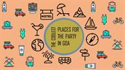 THE COOLEST PLACES FOR THE PARTY IN GOA | Bike Rental Service