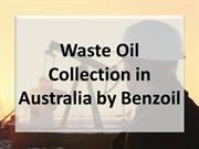 Waste Oil Collection in Australia by Benzoil