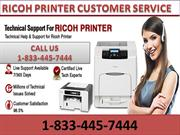 Call us 1-833-445-7444 our Ricoh Printer Technical Support Number
