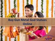 Buy God Gun Metal  Idols Online, Buy Gun Metal God Statues Online