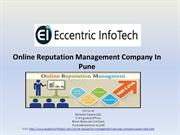 Online Reputation Management Company in Pune - Eccentric Infotech