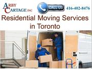 Residential Moving services Toronto | Arby Cartage Inc.