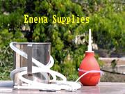 Buy Easy Enema Kits for Home Colon Cleansing