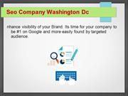 Seo Services Washington Dc
