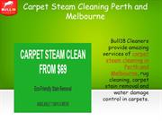 Carpet Steam Cleaning Perth and Melbourne