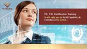 ITIL CSI Certification Training in Bangalore