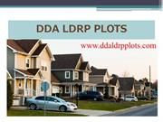 DDA LDRP policy for affordable plots in Delhi