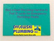 Find a Best Plumbing Service in Port St Lucie for Emergency Plumbing