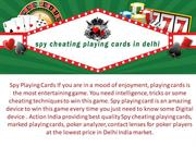 Spy Cheating Playing Cards Shop in Delhi