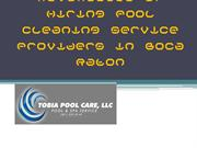 Advantages of Hiring Pool Cleaning Service Providers in Boca Raton