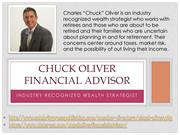 Chuck Oliver  -  Industry Recognized Wealth Strategist