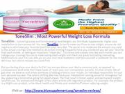 ToneSlim : Higher your metabolism to burn excess fat