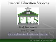 Financial Education Services Business