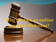 Why to Start an Online Auction Websites?