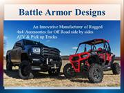 Pickup Truck Accessories - Battle Armor Designs