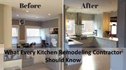 What Every Kitchen Remodeling Contractor Should Know