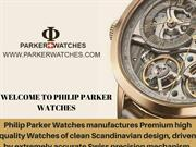 Cluse Watches - Philip Parker watches