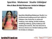 Hire a best bridal makeover artist in udaipur rajasthan india