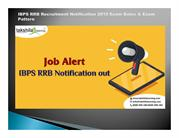 IBPS RRB Recruitment Notification 2018 Exam Dates & Exam Pattern 2018