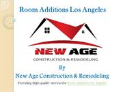 Top notch Room Additions Los Angeles services