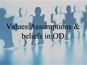 4 values assumptions