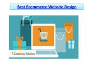 Best Ecommerce Website Design , Ecommerce Development Company in Delhi