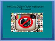 How to Delete Instagram Account | Instagram Live Chat Support